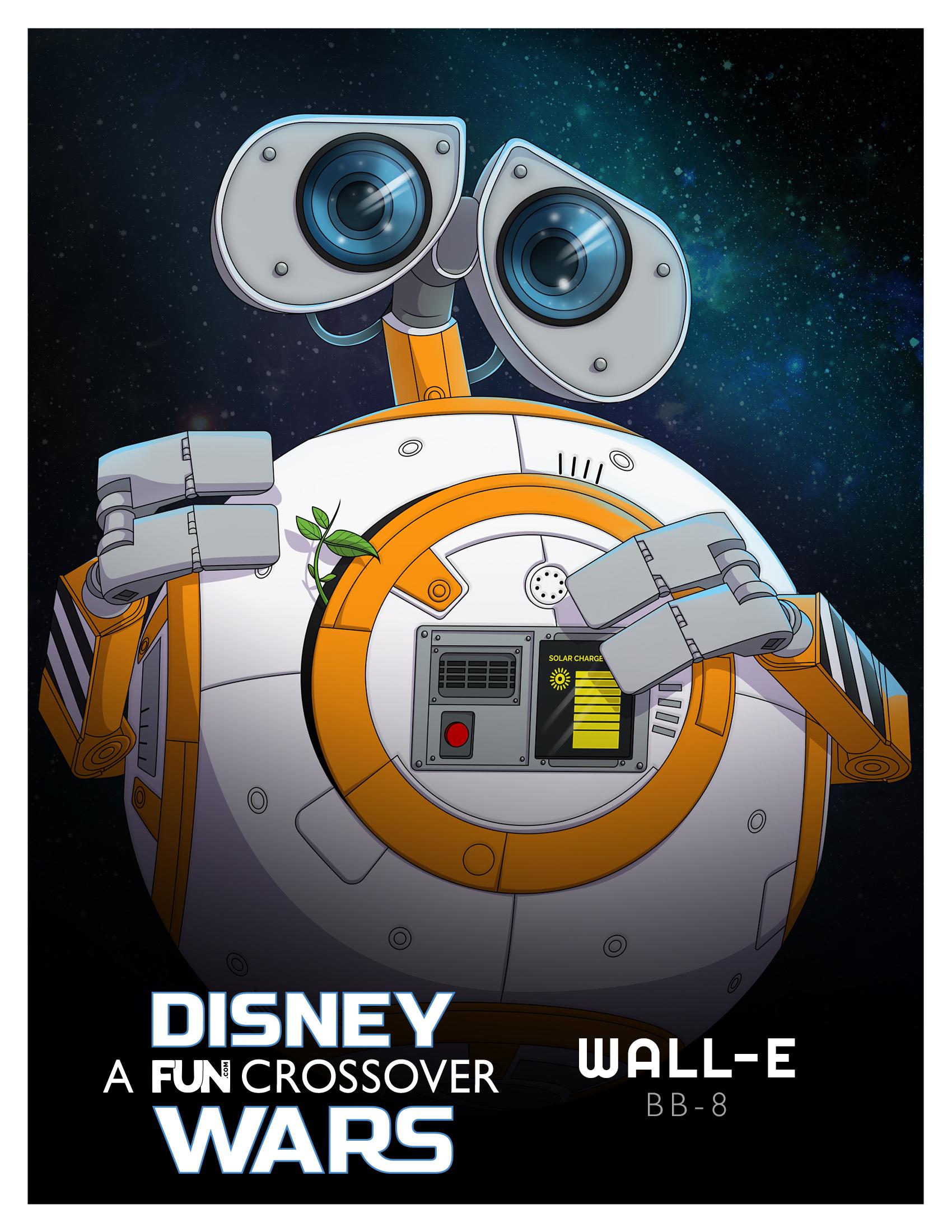 Disney Wars Wall-E BB-8