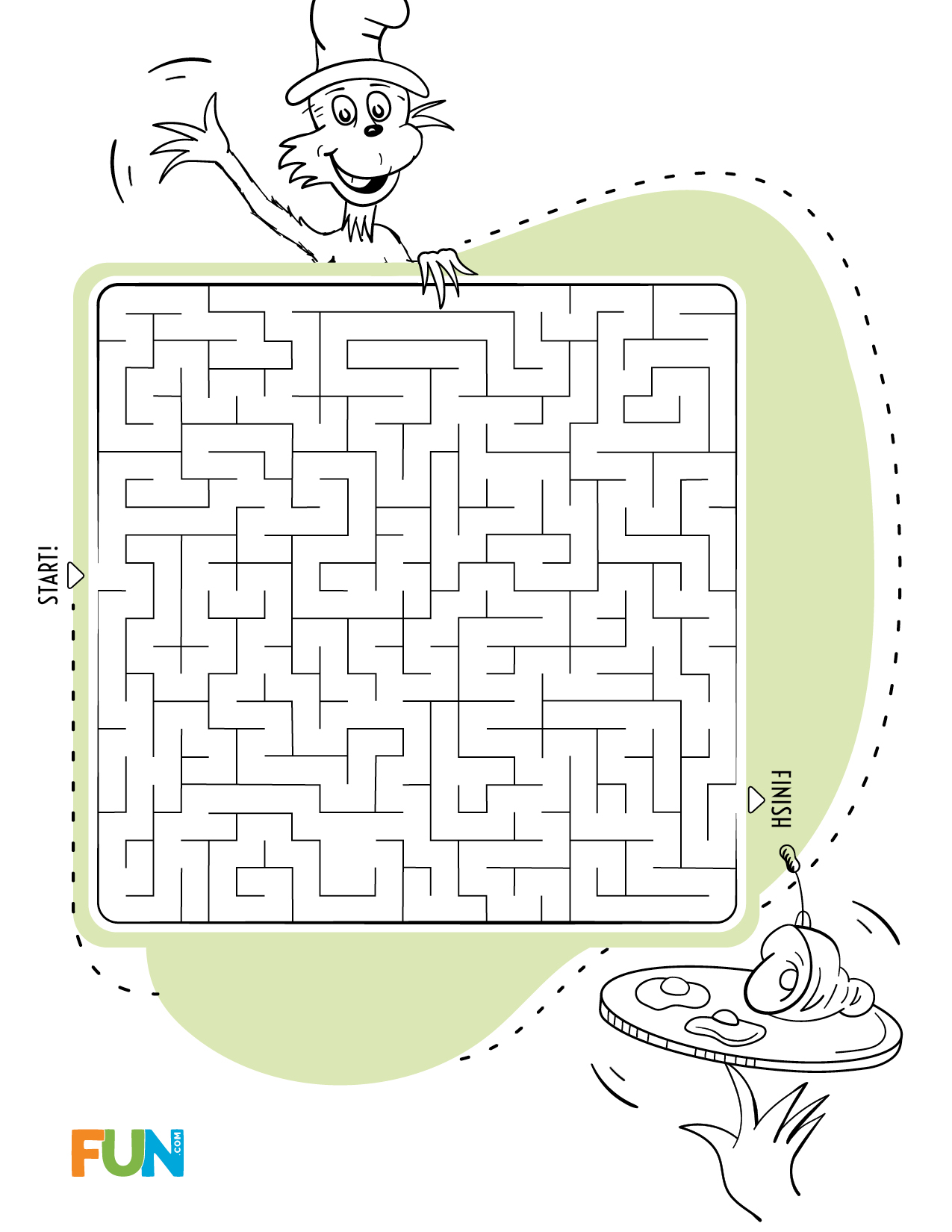 Dr. Seuss Maze