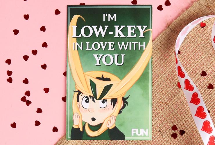 Loki Valentine's Day Card