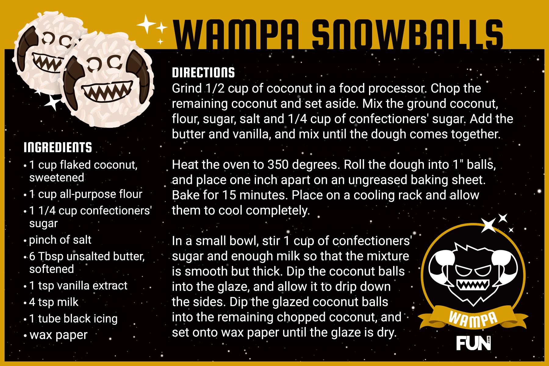Wampa Snowballs Recipe