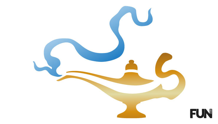 Aladdin Window Cutout