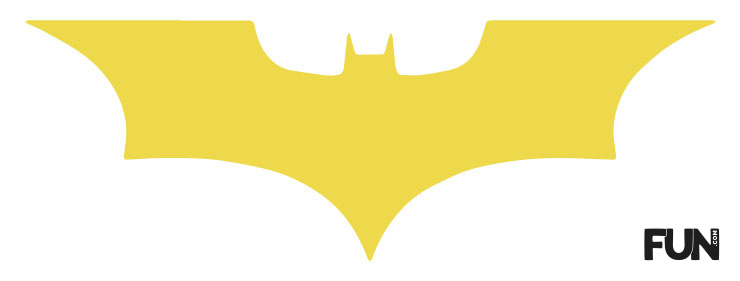 Batman Window Cutout
