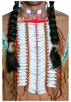 Tribal Native American Beaded Breastplate