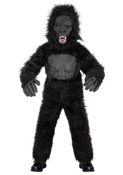 Scary Gorilla Kids Costume