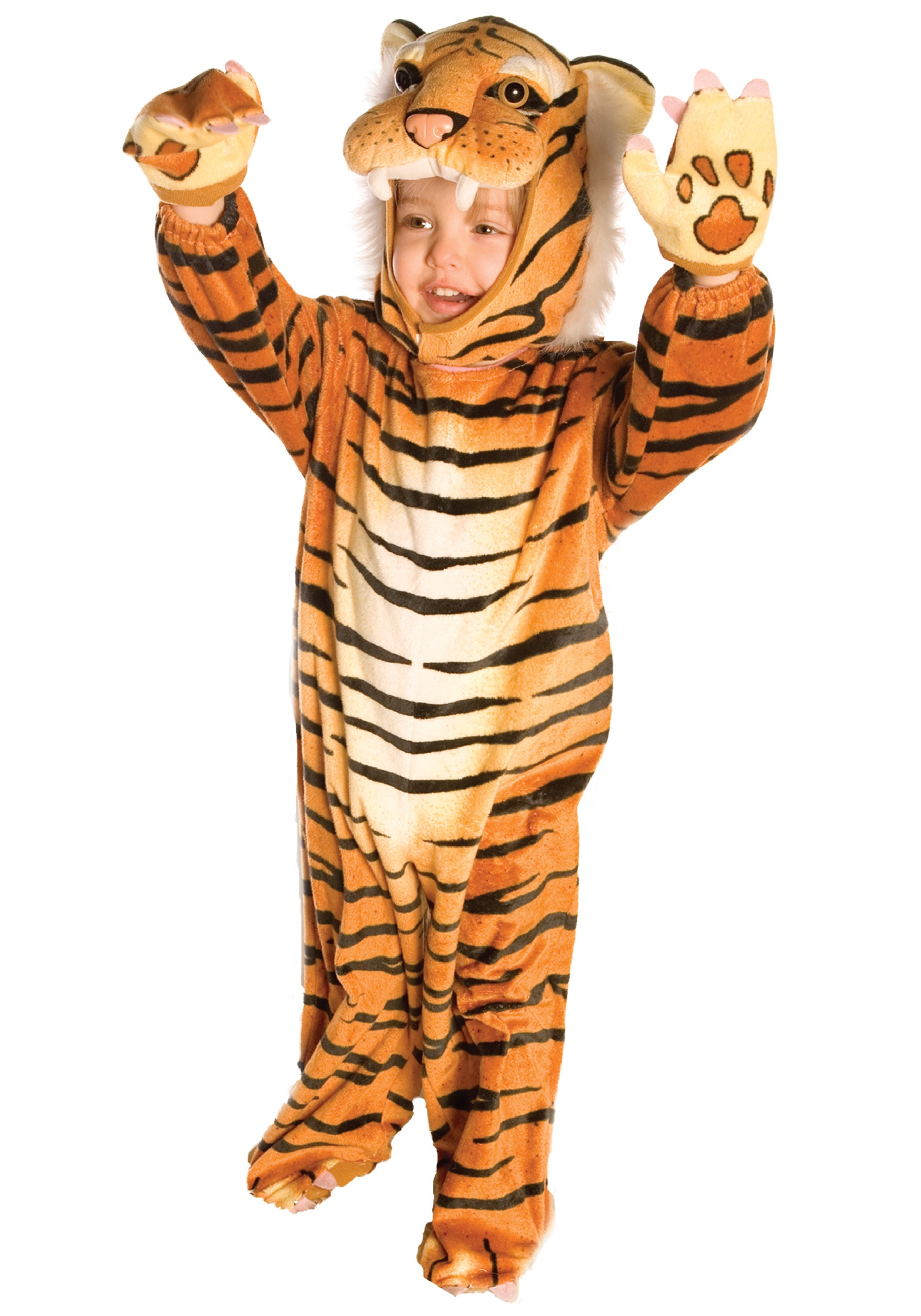 Toddler Tiger Costume  sc 1 st  Fun.com & Tiger Costume for Toddlers