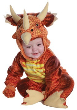 Infant/Toddler Triceratops Costume