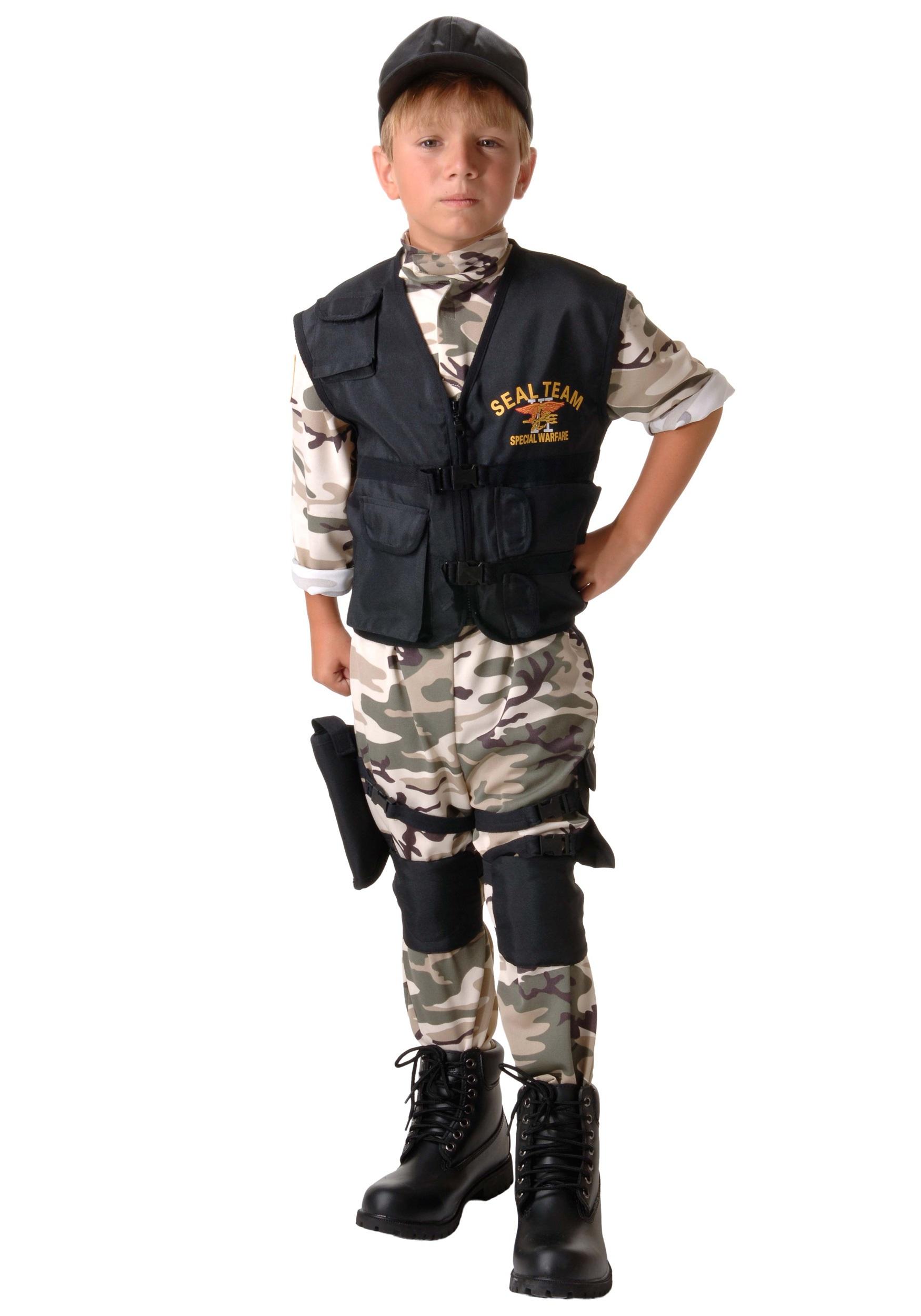Child SEAL Team Costume UN26062