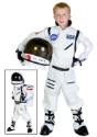 Kids White Astronaut Costume