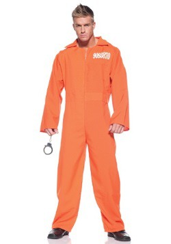 Men's Prison Jumpsuit Costume