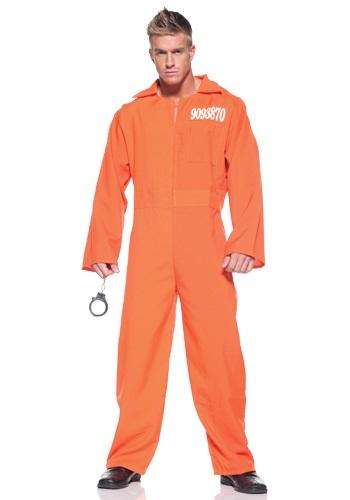 Plus Size Prison Men's Jumpsuit
