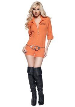 Women's Sexy Prison Jumpsuit