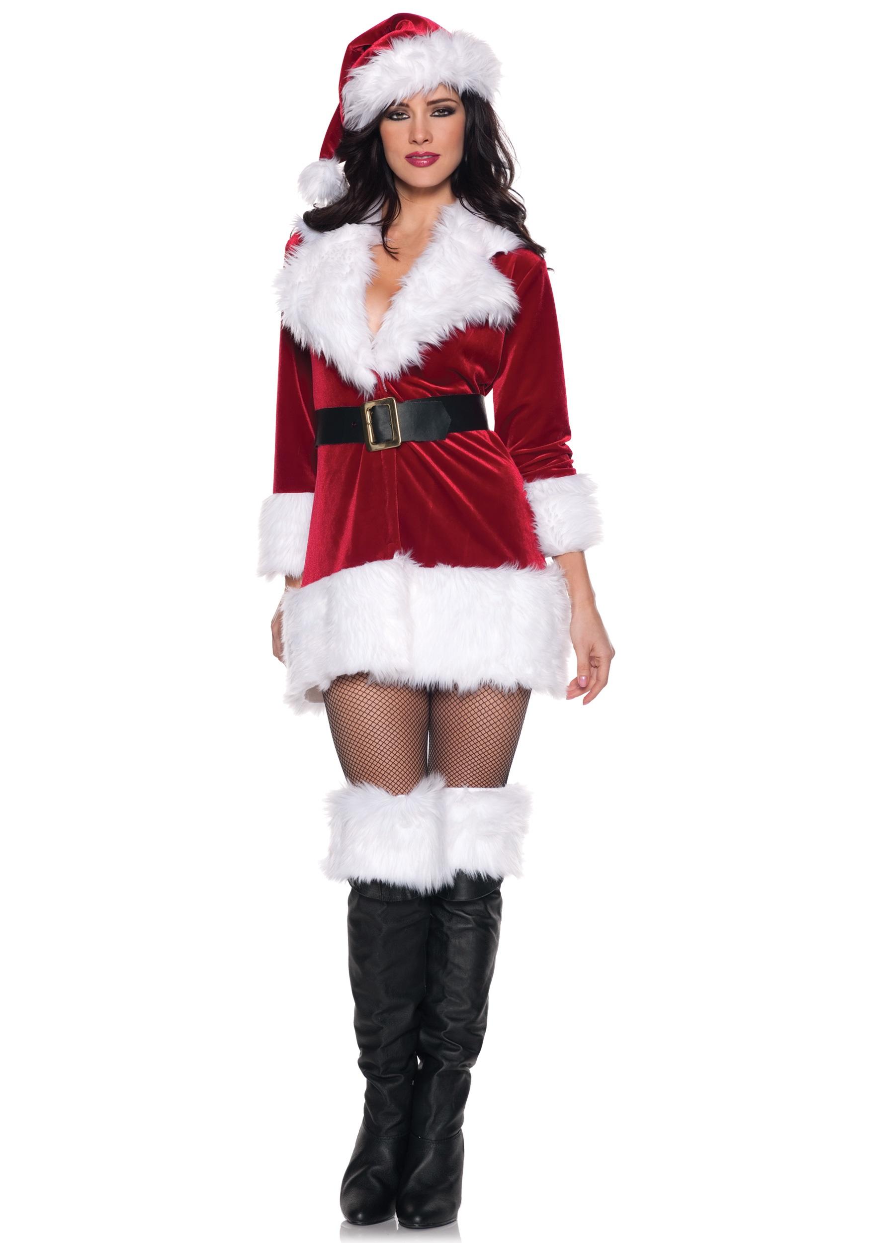 Womens Santa Claus Costume