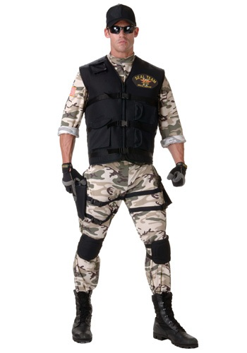SEAL Team Costume For Adults