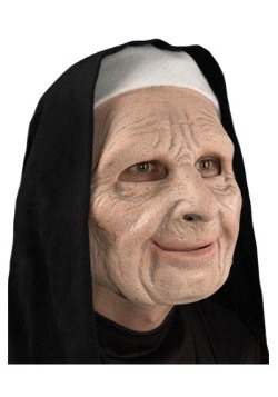 The Town Scary Nun Adult Mask