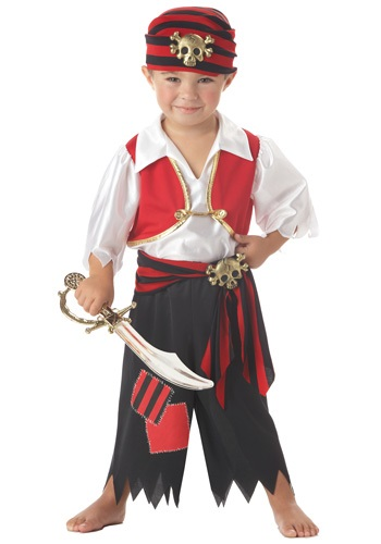 Toddler's Ahoy Matey Pirate Costume