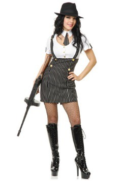 Gangster Girl Womens Costume