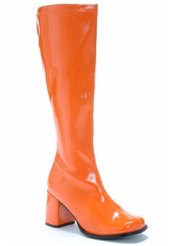 Orange Gogo Boots For Adults