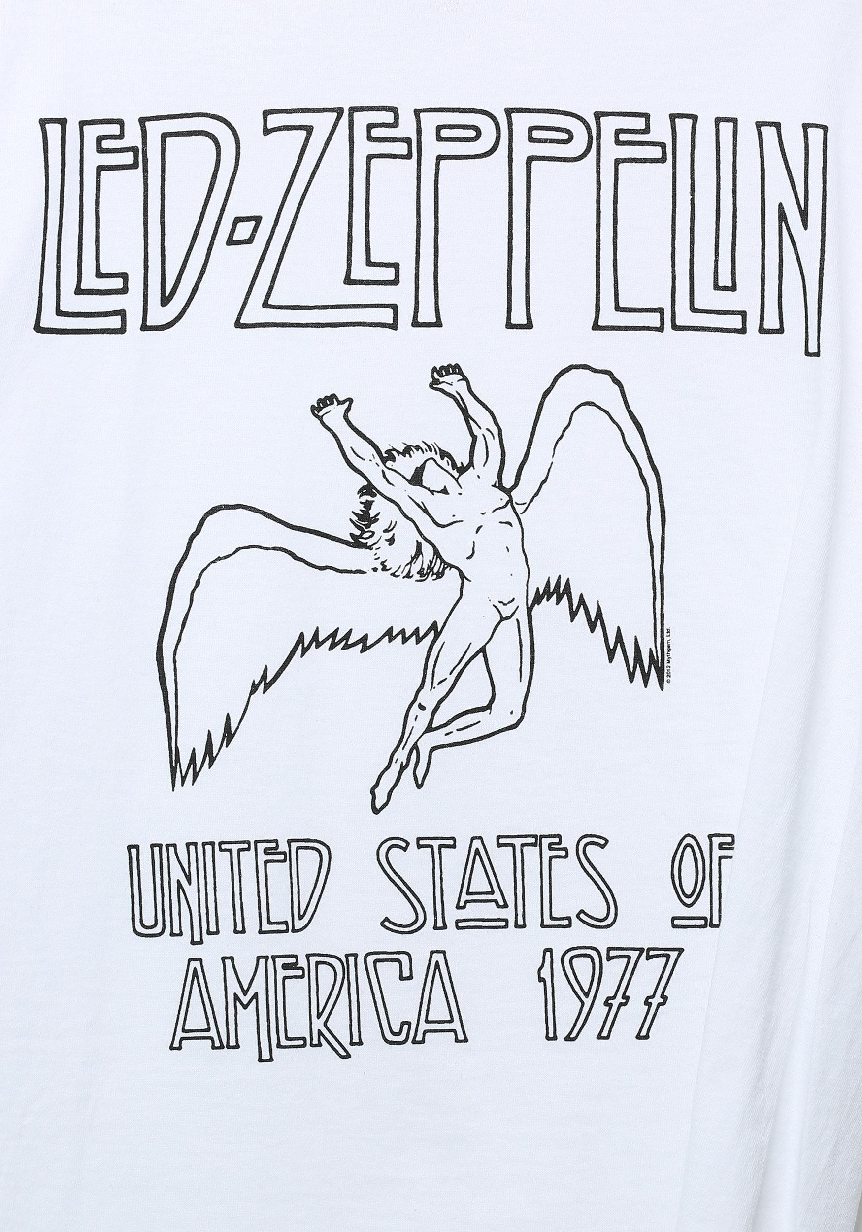 3ec8372ac Led Zeppelin White Icarus T-Shirt2