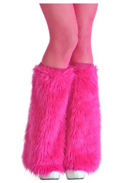 Pink Furry Adult Boot Covers