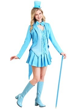 Sexy Blue Tuxedo Women's Costume Update Main