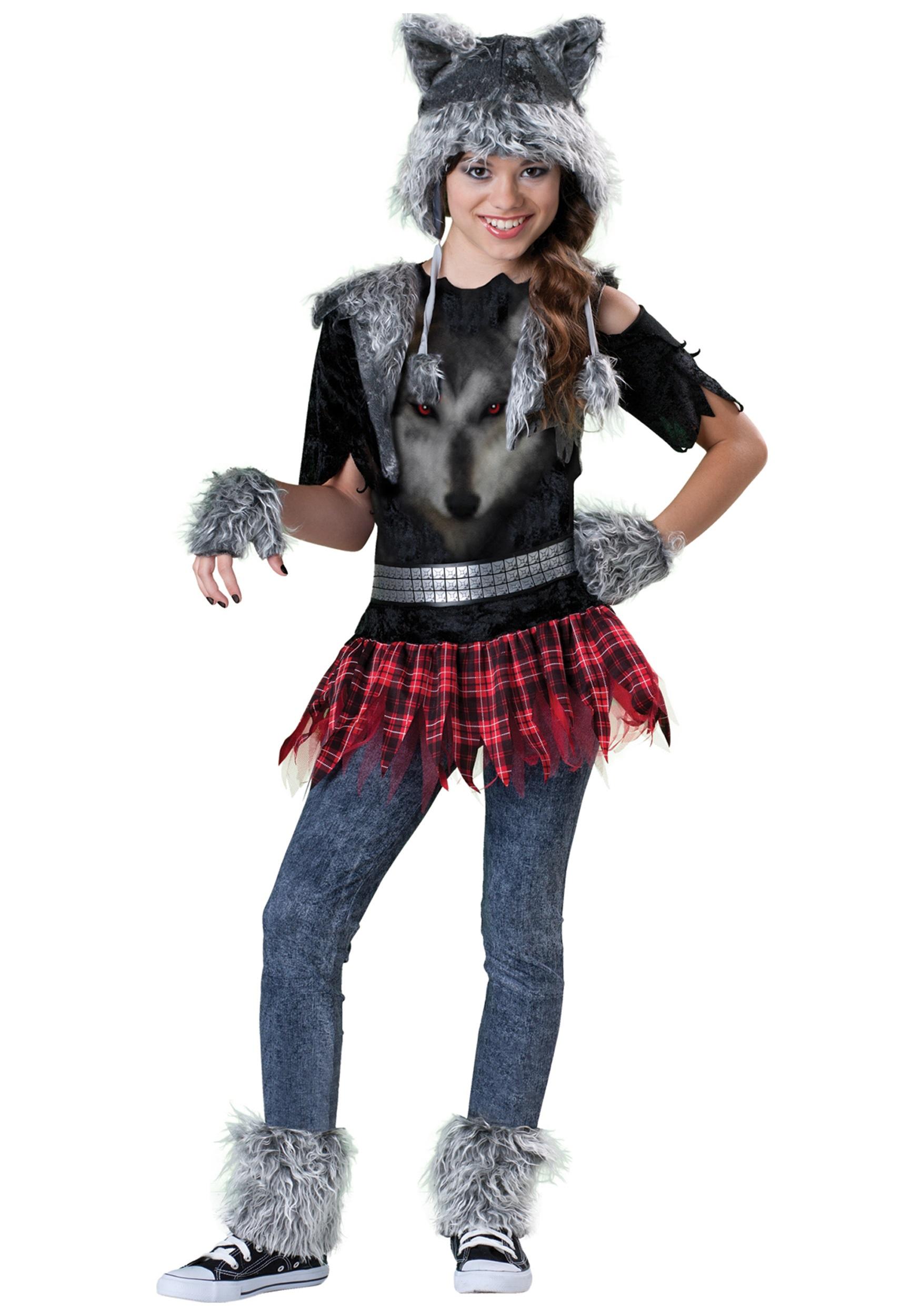 Tween werewolf girls costume tween girls werewolf costume solutioingenieria Image collections