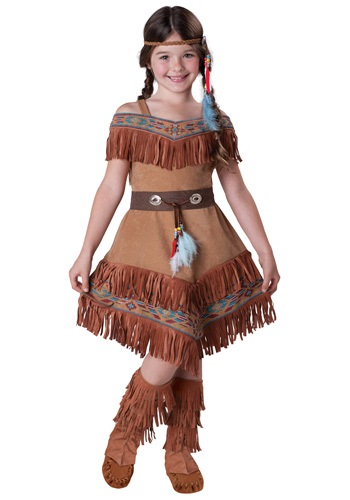 Kids Native American Maiden Costume