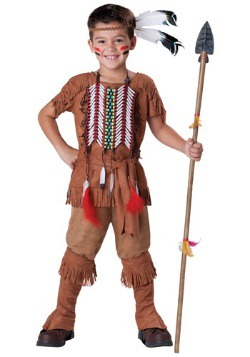 Native American Brave Costume For Child