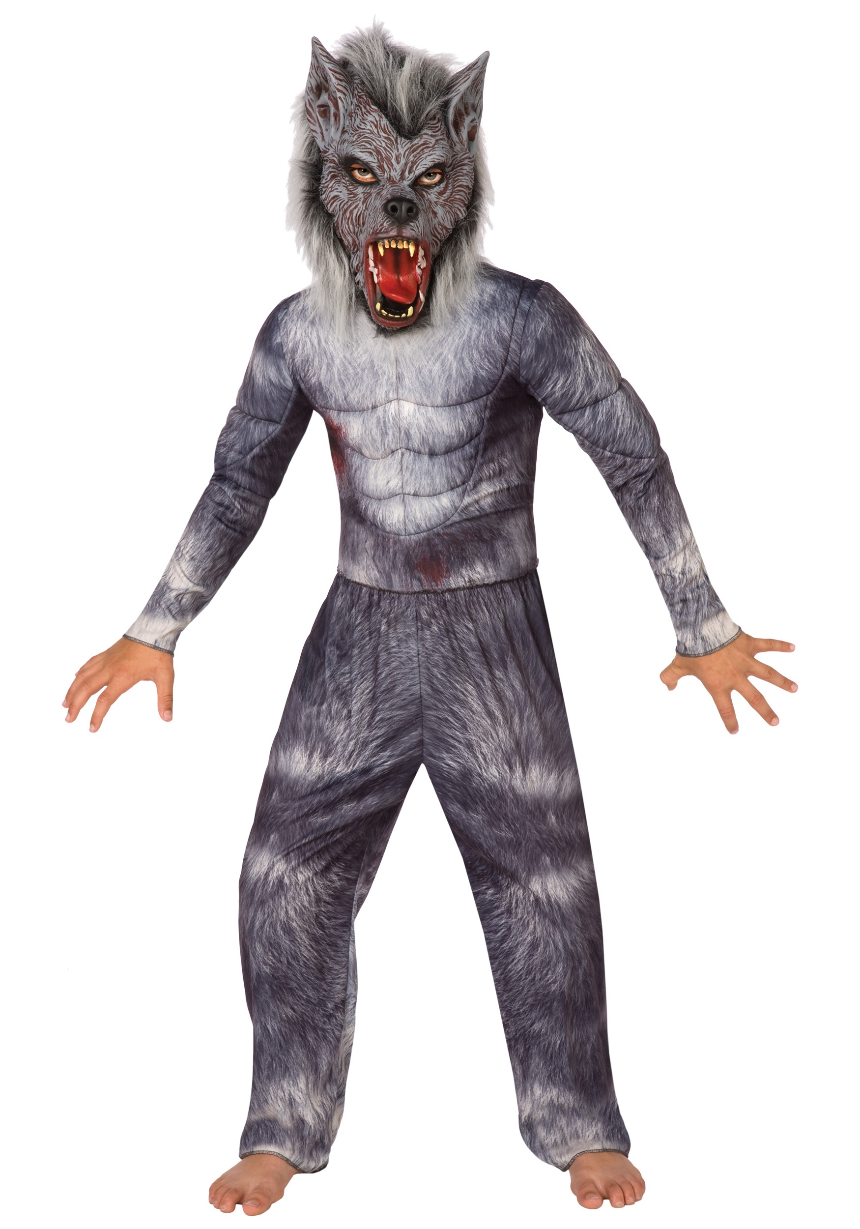 Boys Werewolf Costume  sc 1 st  Fun.com : minecraft wolf costume  - Germanpascual.Com