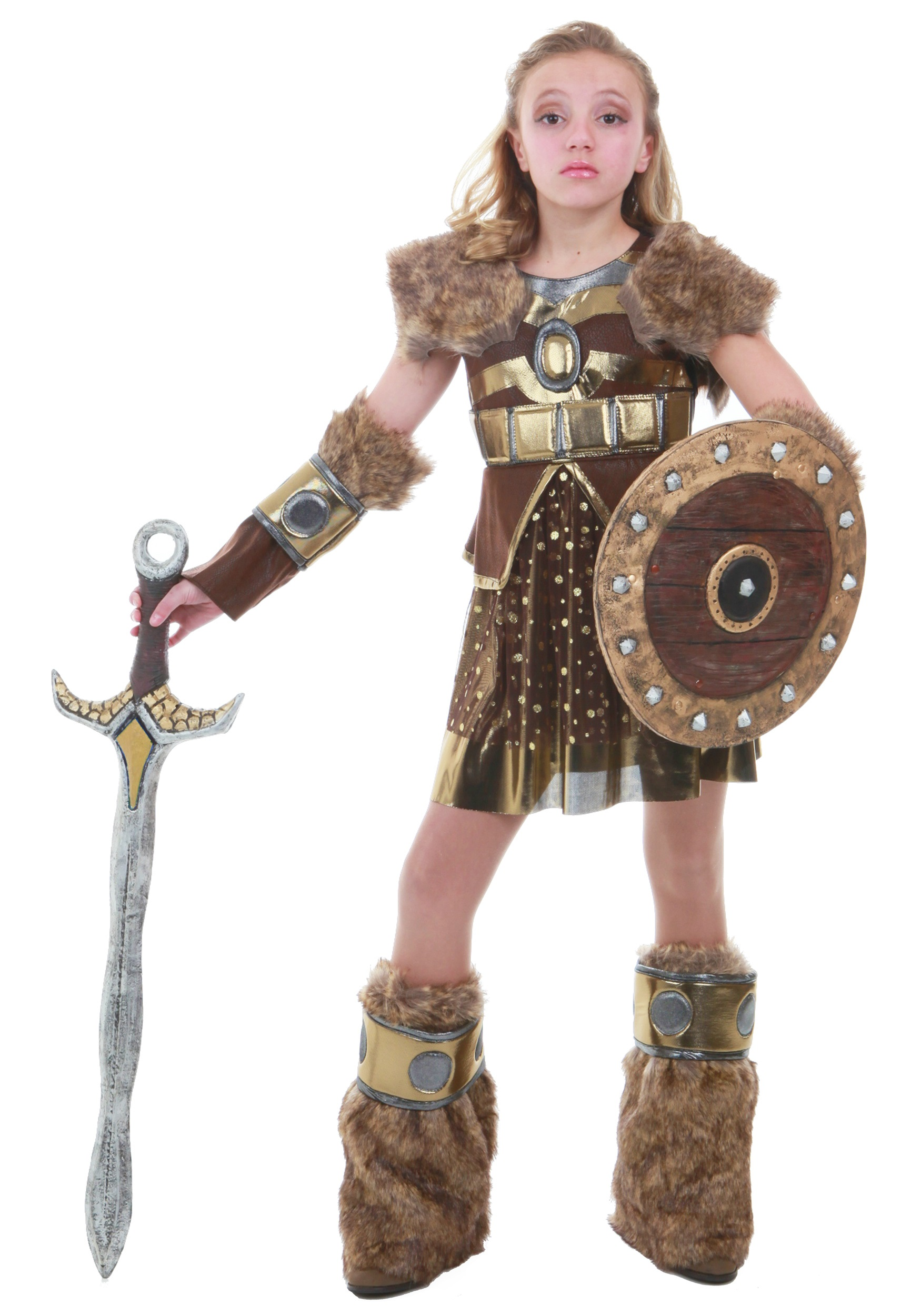 Hildagaard Viking Tween Costume  sc 1 st  Fun.com & Hildagaard Viking Costume for Tweens