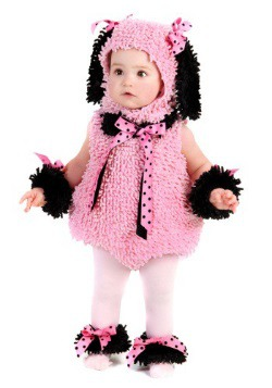 Toddler Pink Poodle Costume