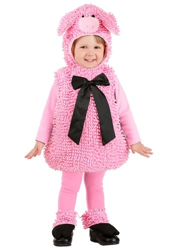 Wiggly Pig Costume