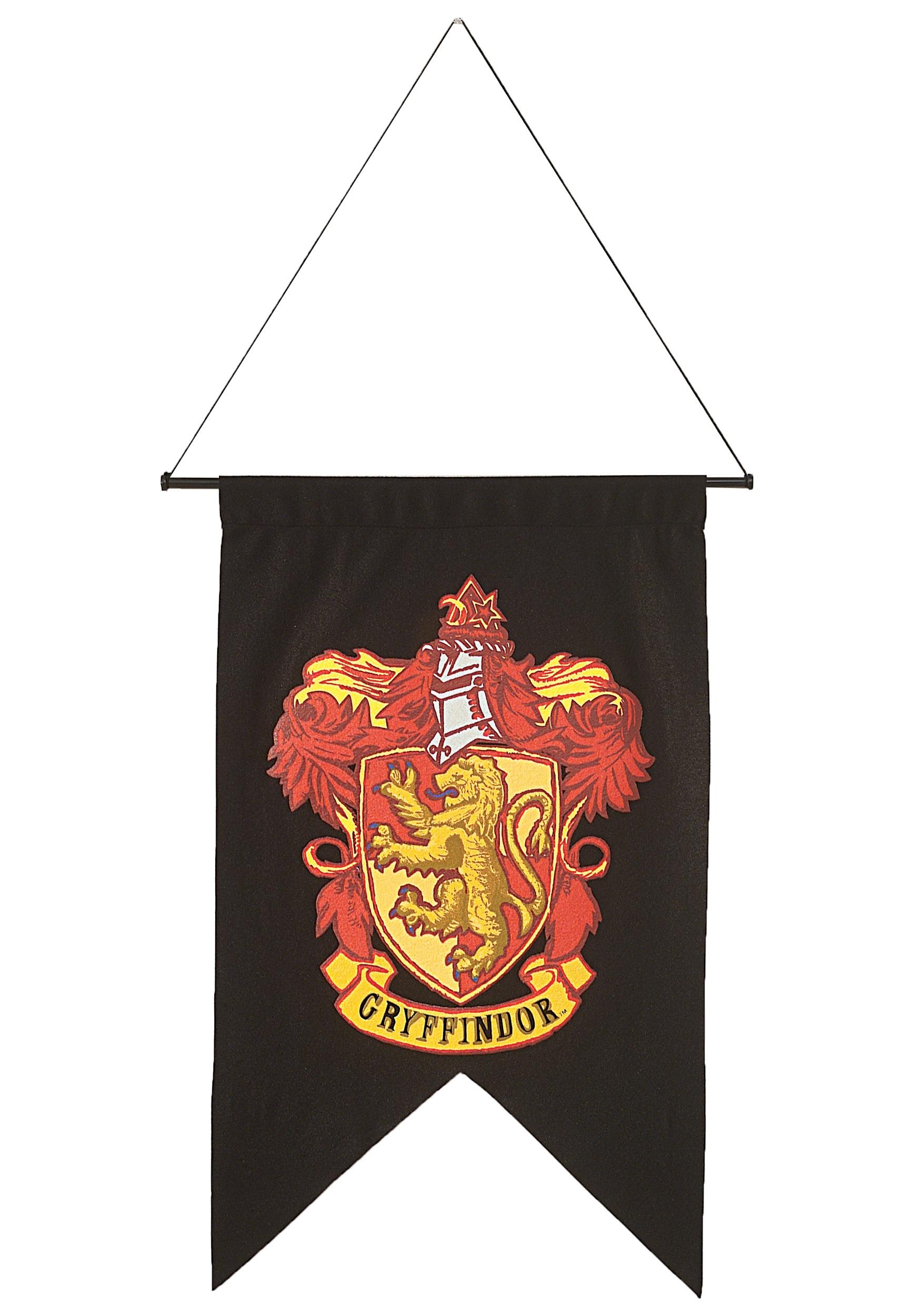 Charming Harry Potter Gryffindor House Banner