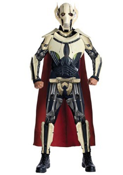 Mens Deluxe Star Wars General Grievous Costume