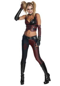 Womens Harley Quinn Arkham City Sexy Costume