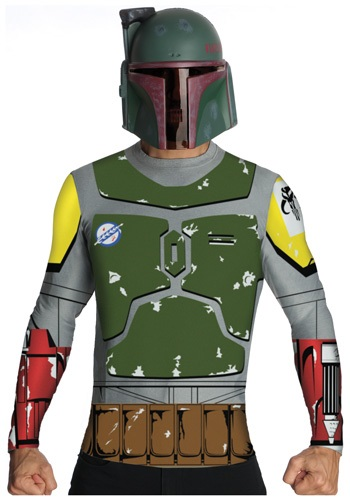 Star Wars Boba Fett Top and Mask