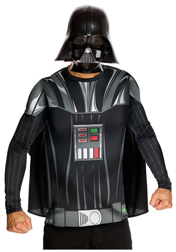 Star Wars Darth Vader Top and Mask RU880678-L