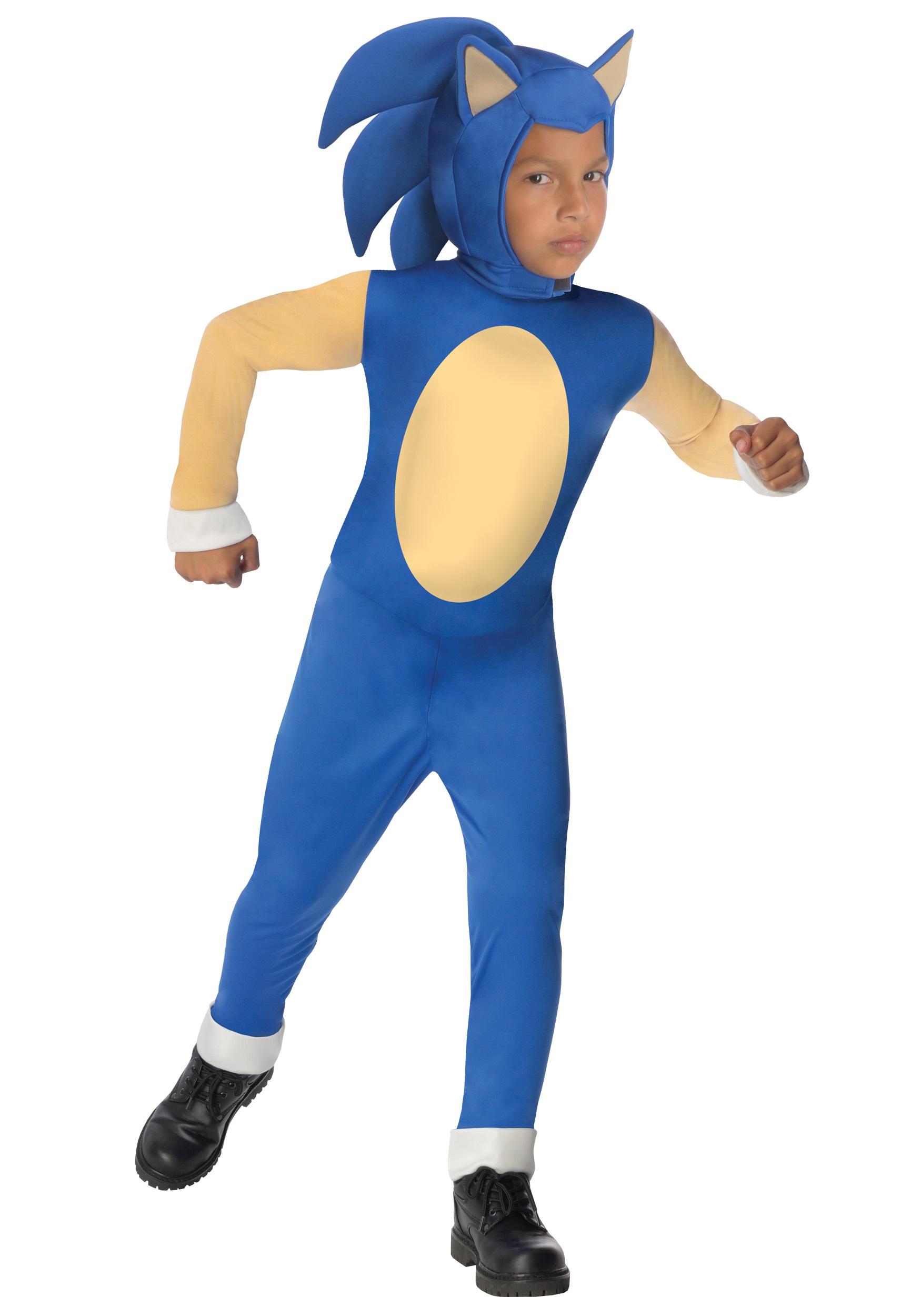 Sonic The Hedgehog Kids Costume