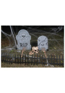 Halloween Scary Cemetery Kit Decoration