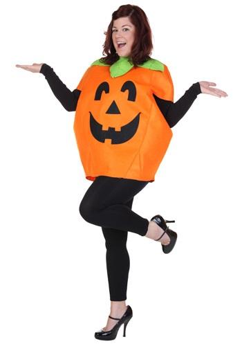 Plus Size Smiley Pumpkin Adult Costume