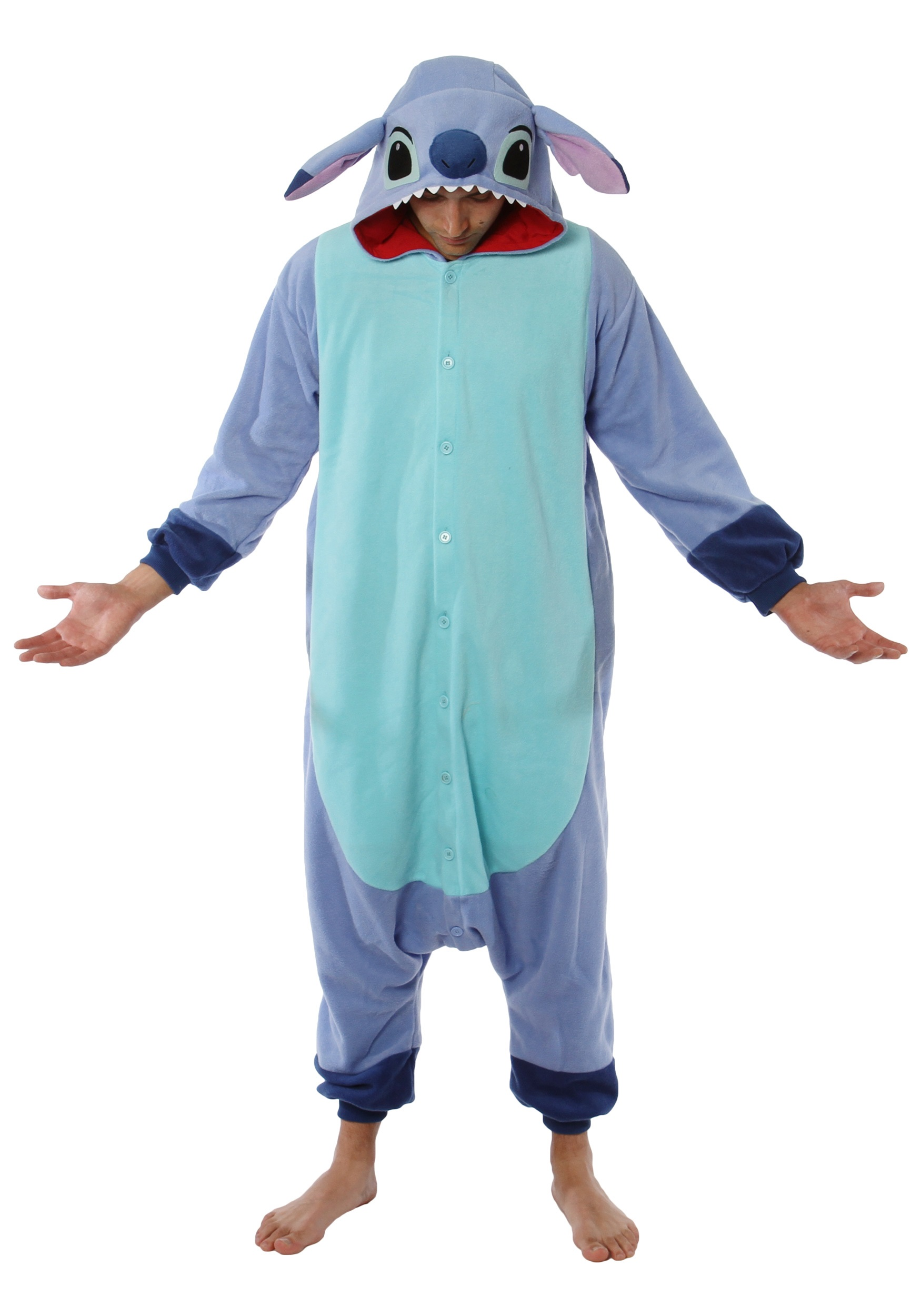 Stitch Kigurumi Pajamas For Adults Lilo And Stitch Costume