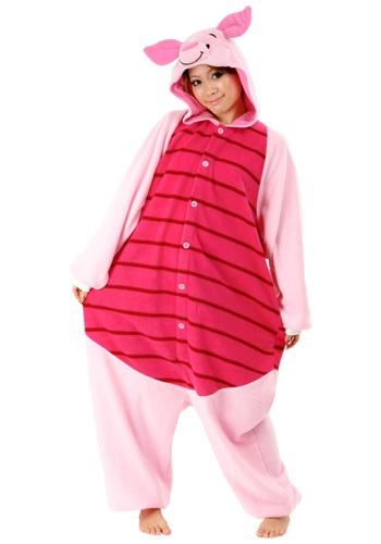 Plush Piglet Pajama Costume