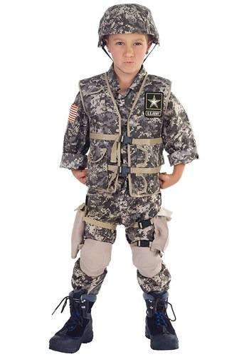 Deluxe Army Ranger Kids Costume update