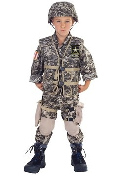 Deluxe Army Ranger Kids Costume