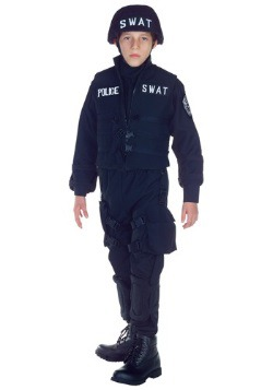 Kids SWAT Team Officer Costume