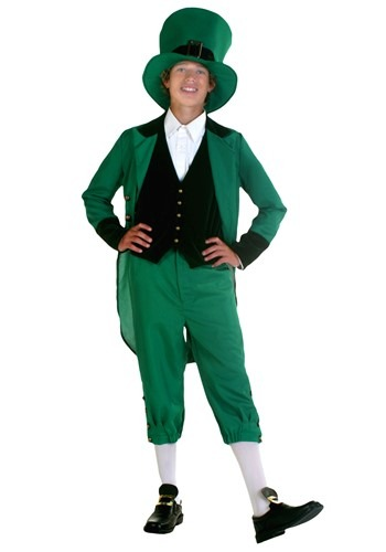 Teen Leprechaun St Patricks Costume
