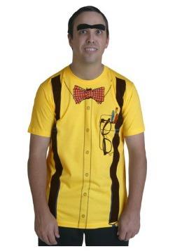 Men's Yellow Nerd Costume T-Shirt