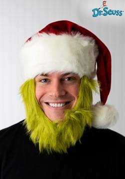 Mister Grinch Hat with Fur Beard Update-1