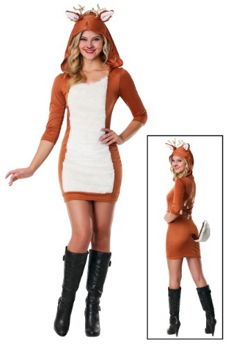 Plus Size Sexy Deer Costume For Women Update Main