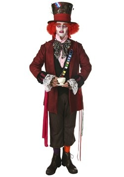 Plus Size Authentic Mad Hatter Costume For Adults Update 1