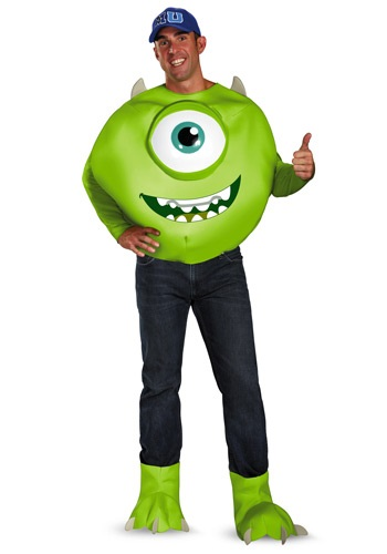 Adult Plus Size Mike Deluxe Costume